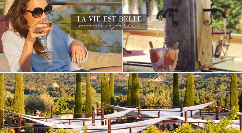 luxury gift box from provence