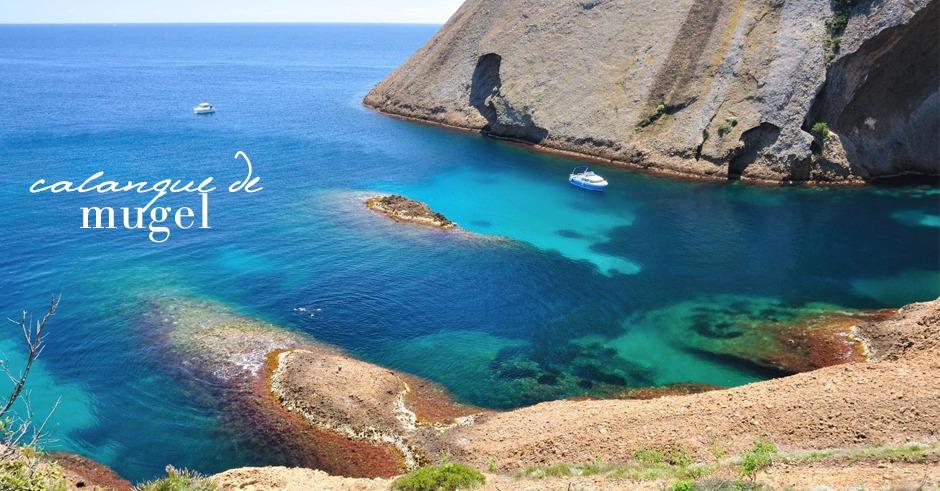 calanque la ciotat mugel provence beach