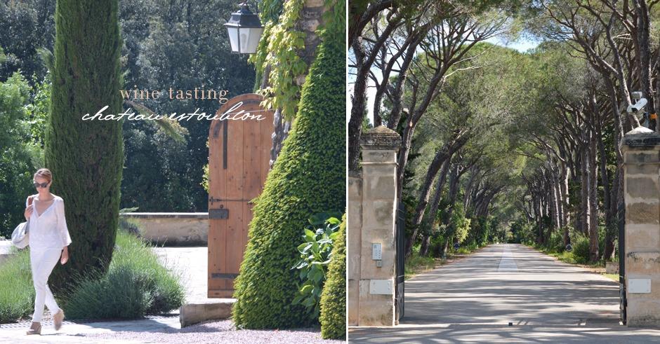 provence wine chateau estoublon