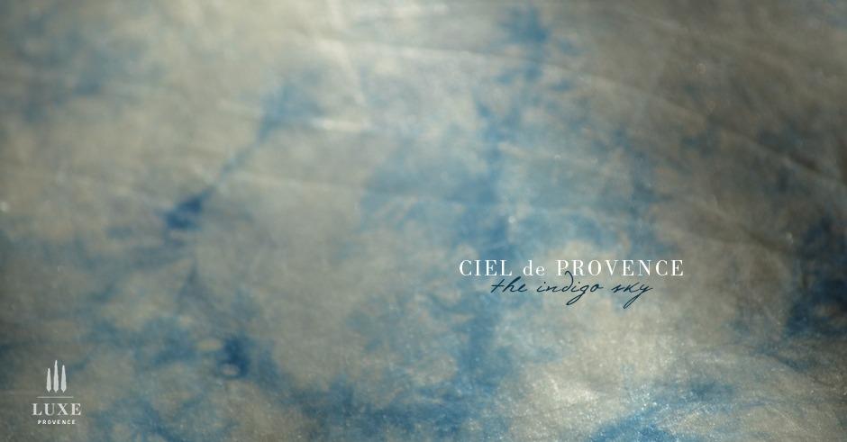 hand dyed silk indigo