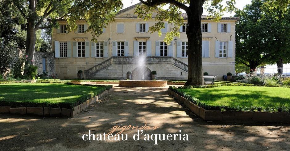 gigondas chateau aqueria wine tavel