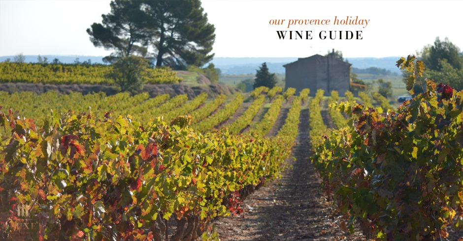 luxe provence wine guide