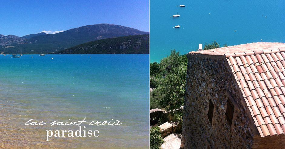 lake saint croix provence haute provence