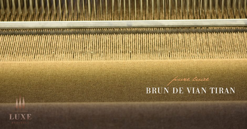 I Had The Pleasure Of Going Behind Scenes Meticulously Crafted Textiles Brun De Vian Tiran A Prestige Family Run Provence Manufacturer Since