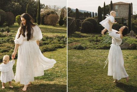 jamie beck luxe provence linen skirt