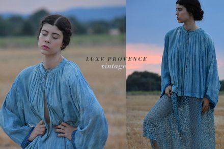 vintage luxe provence indigo atelier Simone louise pascale